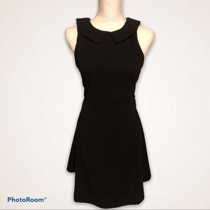 Romeo & Juliet Couture Collar Black Dress